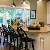 Family Kitchen Makeover on a Budget